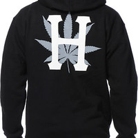 HUF H-Town Classic Black Pullover Hoodie