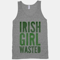 Irish Girl Wasted (tank)