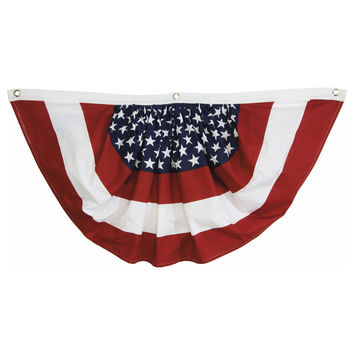 Outdoor Patriotic Bunting