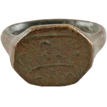 MEDIEVAL ISLAMIC RING 10th-11th CENTURY, PERIOD OF THE CRUSADES