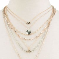 FULL TILT Love Layer Necklace