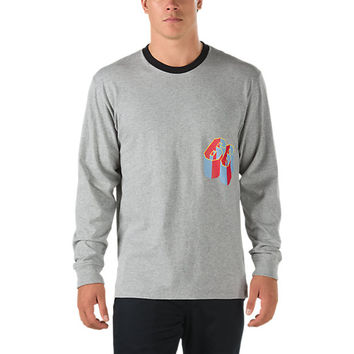 Gilbert Crockett Ringer Long Sleeve T-Shirt | Shop Mens T-Shirts At Vans