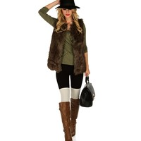 Sale-olive Wrap Front Fitted Top