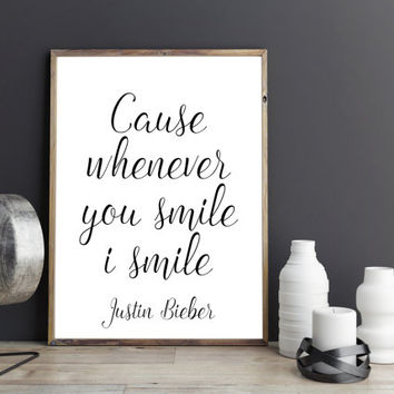 Song Lyrics,Quote Prints,JUSTIN BIEBER POSTER, What Do You Mean Wall Art,Dorm Room Decor,Quote Art,Girls Room Decor,Gift For Her,Digital,art