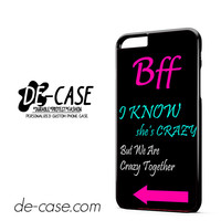 Best Friends Bff In Pairs Right DEAL-1770 Apple Phonecase Cover For Iphone 6 / 6S Plus