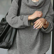 new 2013 thick sweater fashion loose long sleeve sweater,fashion big size plus winter Women's pullover 4XL DM133
