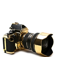 24K Gold & Stingray Lux Nikon DF Camera