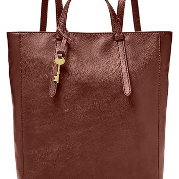 5932441ada828a Fossil Camilla Convertible Large Leather Backpack & Reviews - Handbags &  Accessories - Macy's