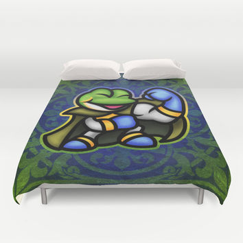 Frog Duvet Cover by Likelikes