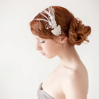 Morning Dew - Bridal Hair piece