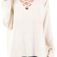 Cozy Criss Cross Sweater
