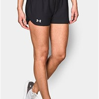 Gliks - Under Armour Play Up Shorts for Women in Black and White