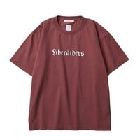 German Logo Tee in Burgandy
