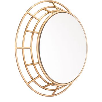 Gold Roma Wall Mirror