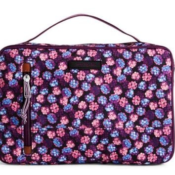 Vera Bradley Berry Burst Large Blush & Brush Case