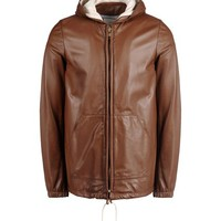 Band Of Outsiders Leather Outerwear - Band Of Outsiders Leatherwear Men - thecorner.com