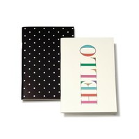 Kate Spade Hello Notebook Set