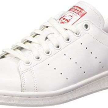 Adidas Stan Smith Women Round Toe Leather White Sneakers