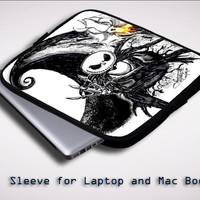 The Nightmare Before Christmas  X0194 Sleeve for Laptop, Macbook Pro, Macbook Air (Twin Sides)