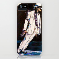 Michael Jackson  iPhone & iPod Case by Broken Record