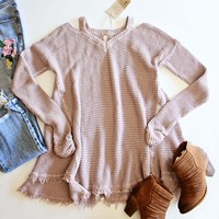 Rusted Rose Thermal in Mauve