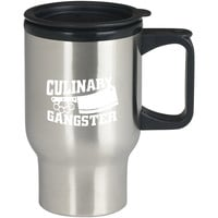 Culinary Gangster Chef prep Cook food For Stainless Travel Mug *