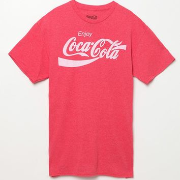 PacSun Enjoy Coca-Cola T-Shirt - Mens Tee - Red