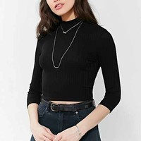 Knot + Bar High/Low Necklace