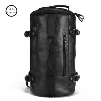 Fashion Men Travel Bag luggage Waterproof suitcase duffel bag Large Capacity Bags casual High-capacity PU leather woman handbag