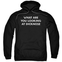 "Teen Wolf ""What Are You Looking At Dicknose"" Hoodie - Adult"
