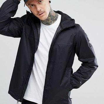The North Face Mountain Q Jacket Hooded in Black at asos.com