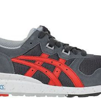 Asics Mens Sneakers Gel Epirus Dark Grey Fiery Red