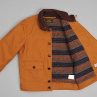 js homestead - the hill side a 1 jacket brown duck