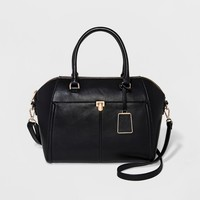 Women's Wing Satchel With Front Pocket - A New Day™
