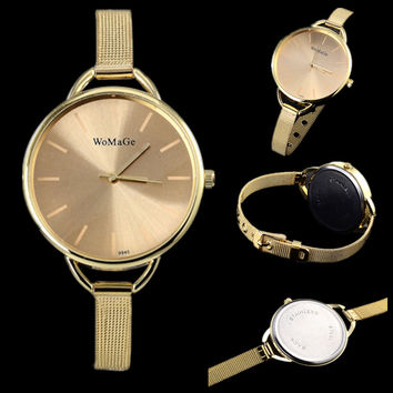 hot sale luxury brand watch women fashion gold watches women watches ladies watch full steel clock saat montre femme reloj mujer