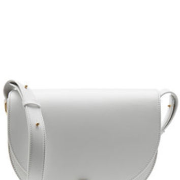 Leather Shoulder Bag - Victoria Beckham | WOMEN | US STYLEBOP.com