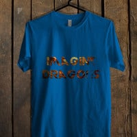 Imagine Dragons Blue For Mens T Shirt and Womens T Shirt *76*