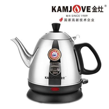 [grandness] Kamjove E 400 Kamjove Electric Tea Kettle 0.8l 220v 1000w 304 Stainless Steel Electric Tea Pot Kettle Teapot
