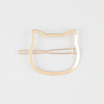 FULL TILT Metal Cat Barette | Hair Accessories