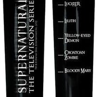Supernatural TV Series LIFE LEVELS Tall SHOT GLASS
