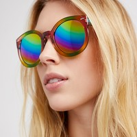 Free People Double Rainbow Sunglasses