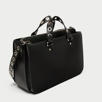 CITY BAG WITH GROMMETS DETAILS