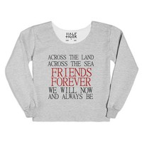 Friends Forever-Female Heather Grey T-Shirt