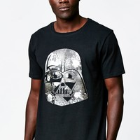 On The Byas - Disney Star Wars Floral Darth Vader T-Shirt - Mens Tee - Black