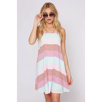Sherbert Stripes Dress - Ships Tuesday