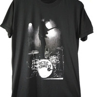 ARCTIC MONKEYS on stage T-SHIRT, alternative rock, English Indie rock, Concert tee, unisex tees