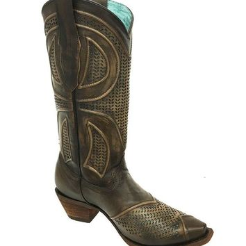 LMFYW3 Corral Maple Laser Cut-Out Boots C3136