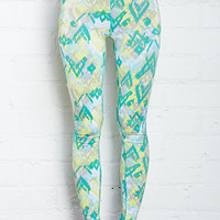 Watercolor Athletic Leggings