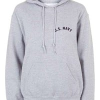 US Navy Hoodie by Tee and Cake