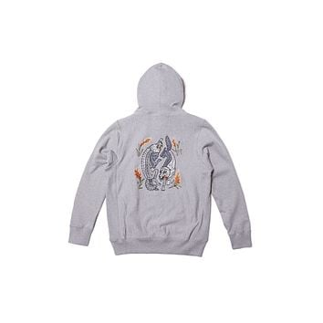 Raised By Wolves Loup Garou Hooded Sweatshirt - Heather Grey